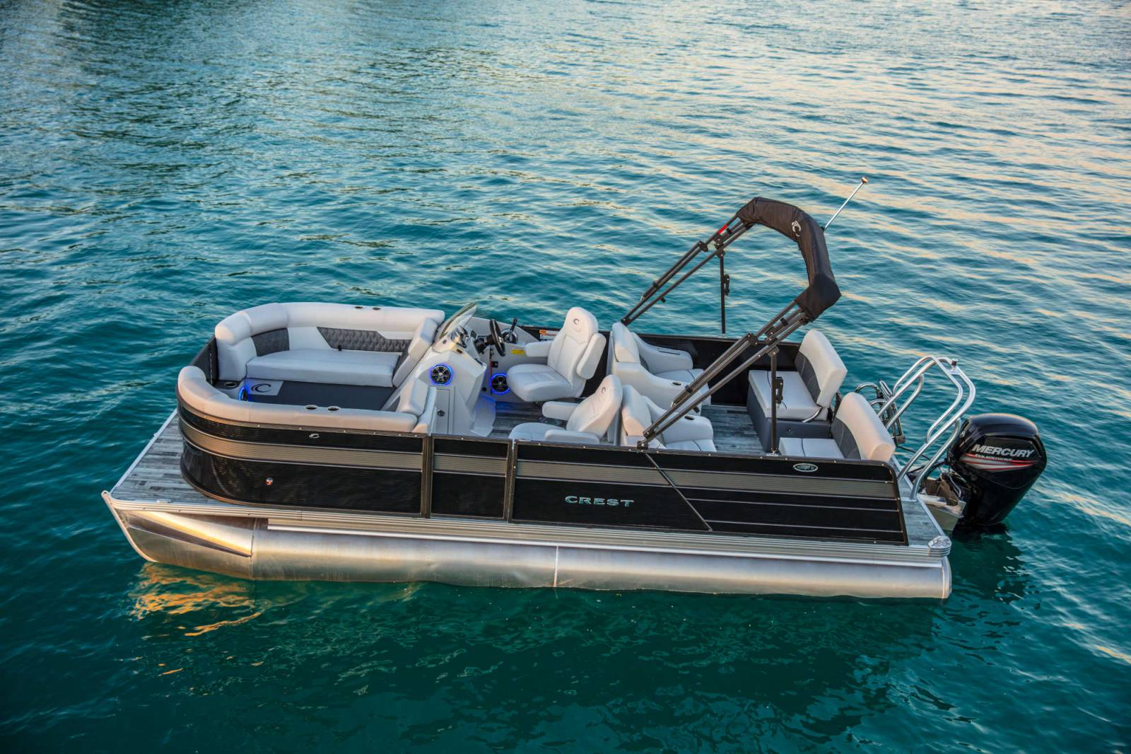 Crest Pontoon Boats >> Barry Capps Marine